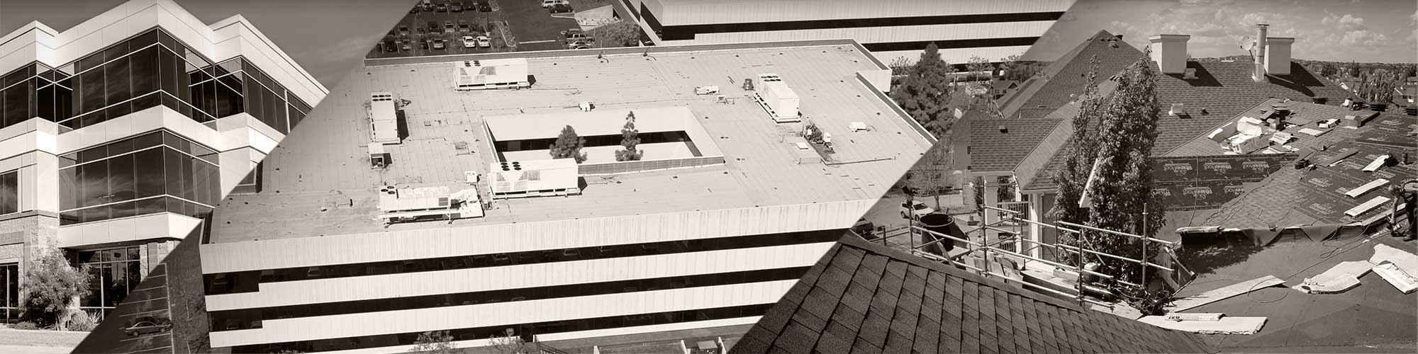 Collection of commercial roofing projects