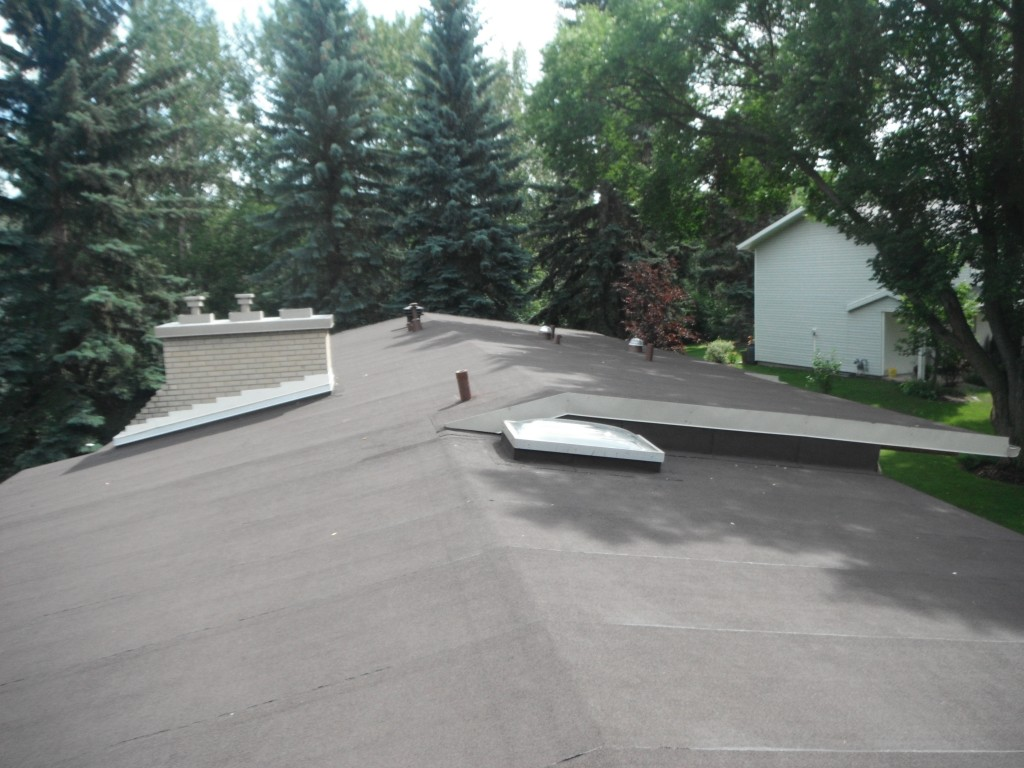Low Slope Roofing In Sherwood Park Jayson Global