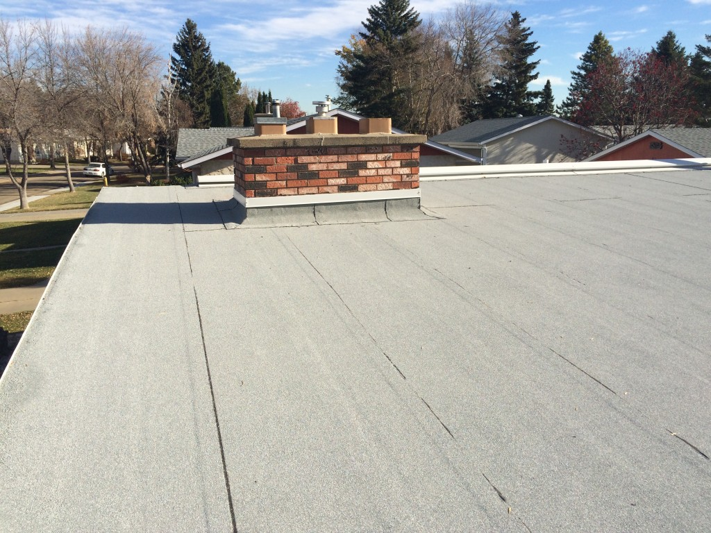 Residential Flat Roof Installation In St Albert Jayson