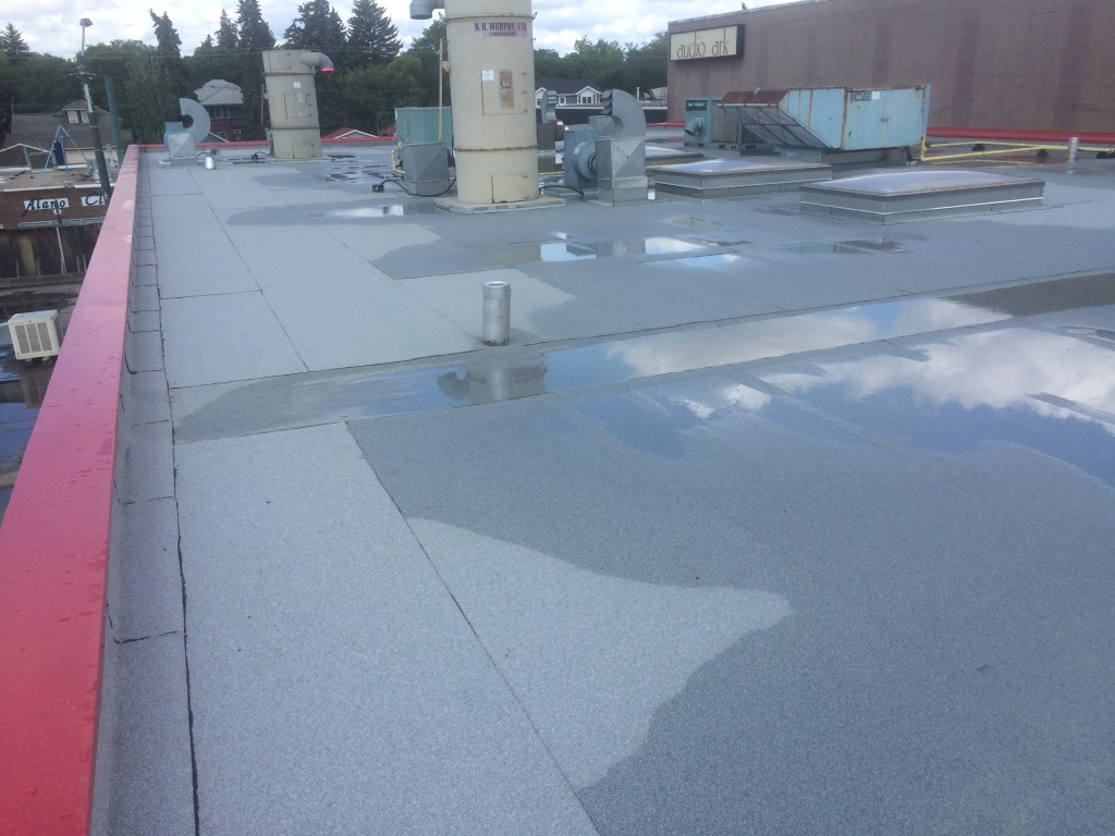 Commercial Flat Roof Replacement In Edmonton