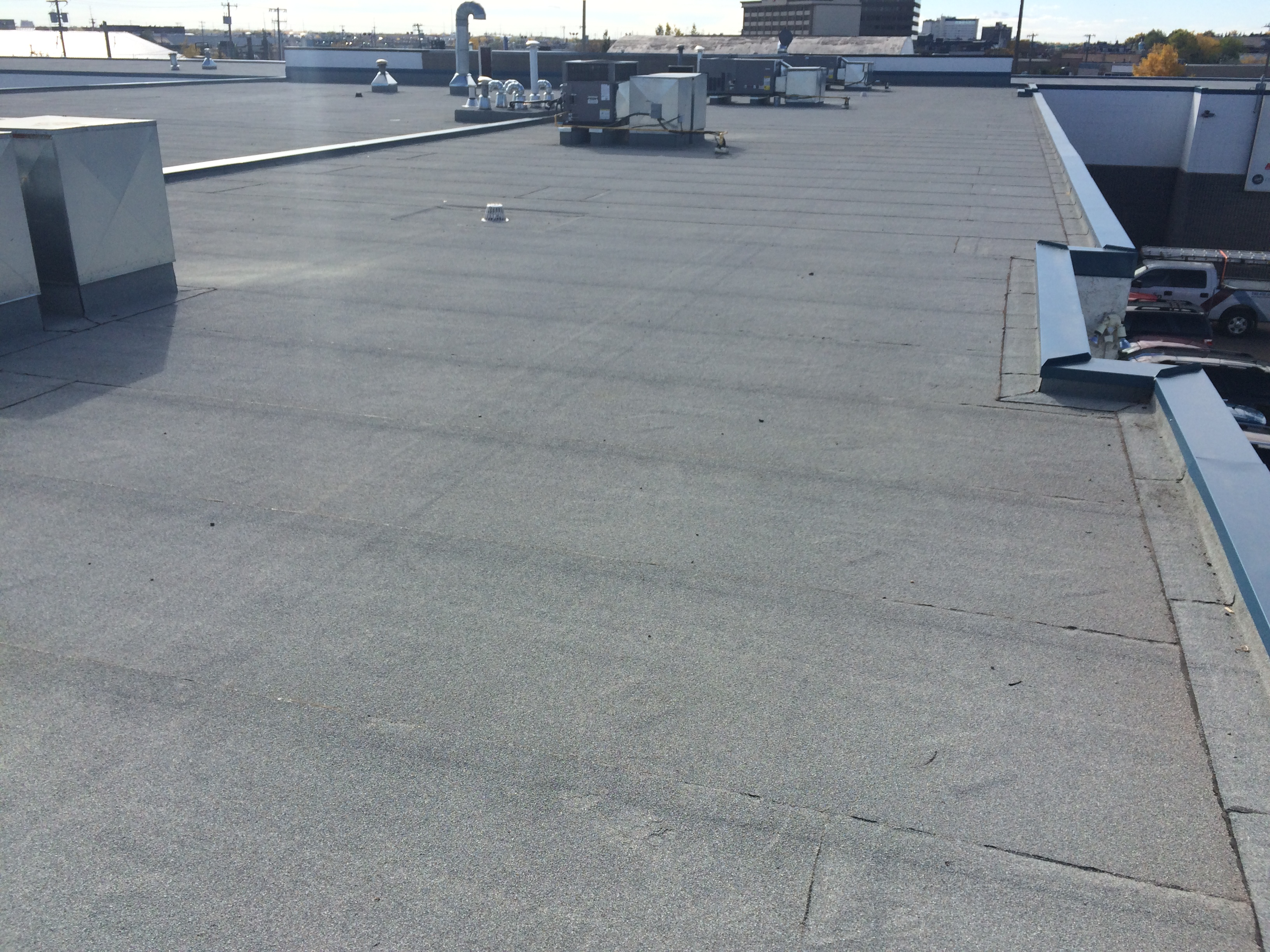 Replacing Tar And Gravel Roof With Membrane Jayson