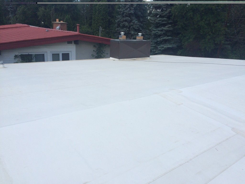 Flat Roof Installation : Edmonton flat roofing installation by jayson global