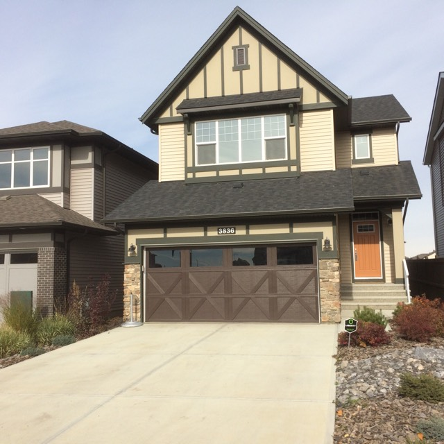 residential roofing project completed in Edmonton