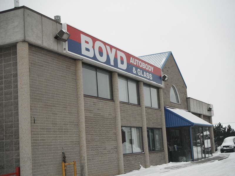 commercial flat roofing project in Edmonton