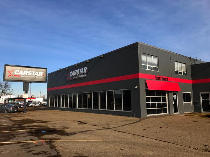 commercial flat roof project in Edmonton