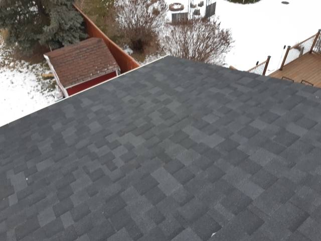 Residential roofing St. Albert, IKO Cambridge Dual Black, Patterson Cres, St. Albert