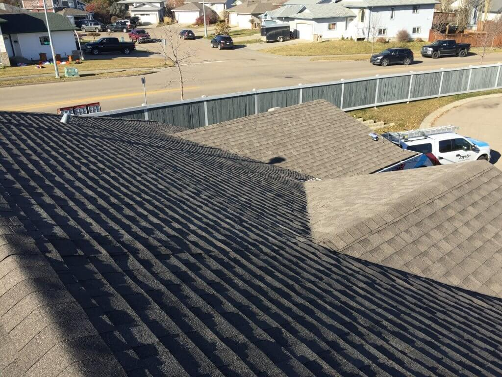 Roofing Contractor Hillcrest Court Spruce Grove Alberta