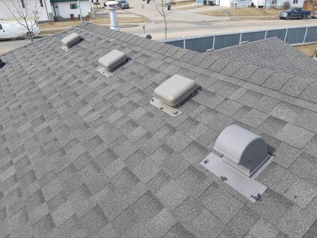 fix my roof Hillcrest Court Spruce Grove Alberta